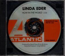"LINDA EDER ""HOW IN THE WORLD"" CD SINGLE 2002 atlantic"