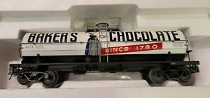 Atlas Model Trains Car # 8227-2 Baker's Chocolate 11,000 Gallon Tank Car (650)