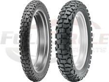 Dunlop D605 Combo Dual Sport Tire Set 3.00-21 4.60-18 *80/100-21 & 110/100-18*