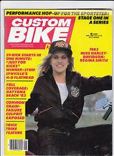 Vintage CUSTOM BIKE Magazine June 1983