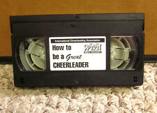 Cheerleading fundamentals mechanics step-by-step Vhs how to be great Ica seminar