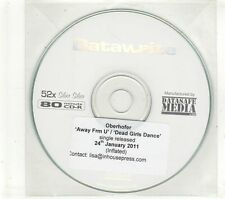 (GT776) Oberhofer, Away Frm U / Dead Girls Dance - 2011 DJ CD