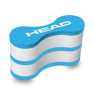 Head Pull Buoy small für das Schwimmtraining (blau/weiß)