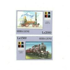 VINTAGE CLASSICS - Sierra Leone IBRA Train - Set Of 2 Stamps - MNH