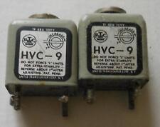 UTC HVC-9 pair variable inductor