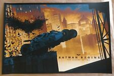 New listing Matt Ferguson Batman Begins 2020 screenprint regular edition bottleneck vice