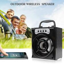 1pc Portable Bluetooth Redner Super Bass Wireless Speakers W/USB/TF/AUX/FM Radio