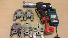 Unicor Uponor Klauke Unipipe Akku Pressmaschine Presszange 5x U Pressbacken Rems