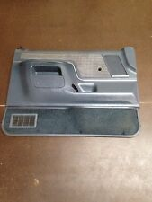 87-91 FORD F-150 F-250 BRONCO DRIVER SIDE DOOR PANEL MANUAL OEM BLUE RARE !!