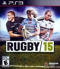 PS3 Rugby 15 (Sony PlayStation 3, 2015) Brand New and Factory Sealed!