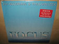 JAN AKKERMAN & THIJS VAN LEER Focus SEALED NEW lp HYPE 1985 824 524-1 Prog Rock