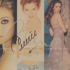 CELINE DION CD 3 in 1 Album Set Booklet signiert IN PERSON Autogramm signed RAR
