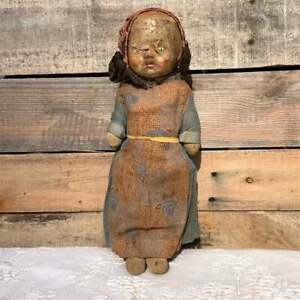 Early 1900's Antique Composition Girl Doll