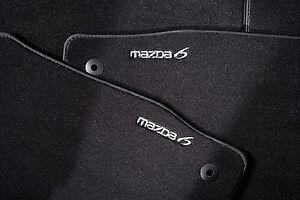 Genuine Mazda 6 GH Car Mats - Luxury GS8TV0320A 2009 - 2012 GS8TV0320A
