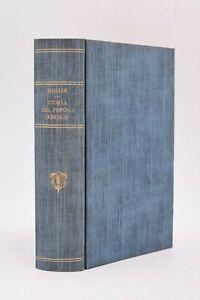 2 volumi in 1 - Duller: STORIA DEL POPOLO TEDESCO 1853 Pomba Torino Legatura