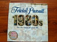 2000 PARKER HASBRO TRIVIAL PURSUIT 1980s EDITION BOARD GAME