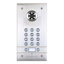 ESP EVVX2KPF 2 Button Vandal Resistant Flush Mount Video Door Enterview Keypad