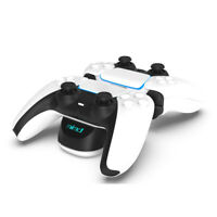 USB Charger Dual Charging Stand Station Cradle Holder for PS5 Gaming Console