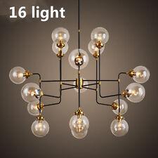16 Light Modern Modo Glass Ball Suspension Ceiling Light Lobby Hall endant Lamp