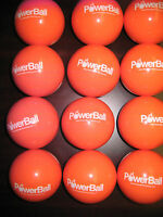 25 POWERBALL SOFTBALL SIZE 450 (1LB) GRAM WEIGHTED TRAINING AND STRENGTH BALLS