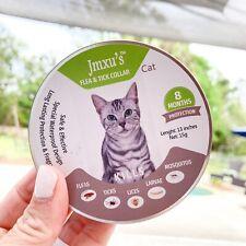 Jmxu's Cheaper than Seresto! Flea & Tick Prevention Collar for Cats 8 Month -Usa