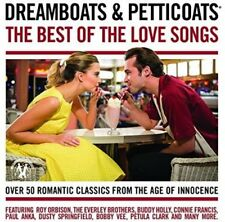 Dreamboats and Petticoats Best Of The Love Songs CD Roy Orbison Everly Brothers.
