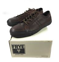 Frye Greene Low Lace Oxford Shoes Mens Size 11.5 Dark Brown Leather