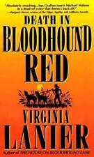 Death in Bloodhound Red (Jo Beth Sidden, No. 1) Lanier, Virginia Mass Market Pa