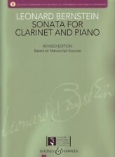 BERNSTEIN SONATA Clarinet & Piano + CD