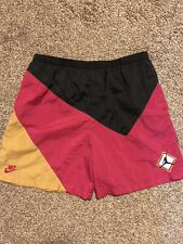 Vintage 1992 Air Jordan Vii 7 Cardinal Bordeaux Shorts OriginalExcellent
