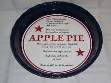 """Sonoma""  Apple Pie Baking  Dish"