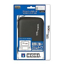Hori Hurd Pouch Case Black for Nintendo 3ds XL LL From Japan