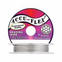 AccuFlex Beading Wire 7 Strand, 0.014 Inch, 100 ft. (WR107)