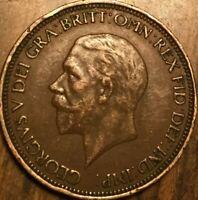 1936 UK GREAT BRITAIN HALF PENNY