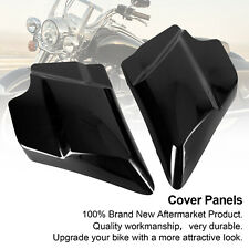 Black Stretched Left Right Side Covers Panel Fit for Harley Touring 2009-2019 SA