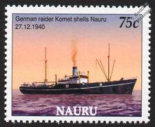La Segunda Guerra Mundial Komet (hsk-7) Auxiliar Cruiser (Schiff 45 / Raider B) buque de guerra Sello