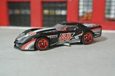 Hot Wheels '76 Greenwood Corvette  - Black - Loose - 1:64 - 68