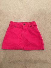 Children's Clothing Carters Fuchsia Corduroy Skirt Size 4T Adjustable Waist