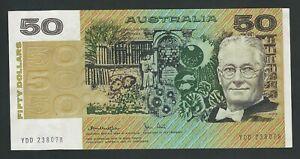 AUSTRALIA   RARE 50 DOLLARS   AUNC