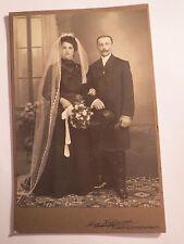 Pulsnitz-Richard Maier e la signora MINA Rozès Seifert-matrimonio-Portrait/KAB