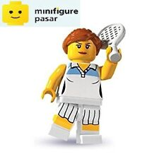 Lego 8803 Collectible Minifigure Series 3: No 10 - Tennis Player  - New SEALED