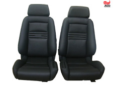 2 Recaro ergomed DS leather climate heating Free Shipping perfect craftmanship