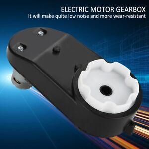 6V / 12V Elektromotor AntriebsmotorGetriebe Für Auto Motorrad Spielzeug neu
