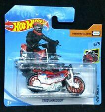 Hot Wheels Tred Shredder Racing Motorbike Skull Moto Series Rare New 2019 s/card