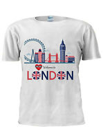 Welcome to LONDON T-Shirt Vest Tank Top Men Women Unisex Tshirt M187