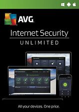 AVG INTERNET SECURITY 2017 - UNLIMITED number of devices - 1 year  DOWNLOAD ONLY