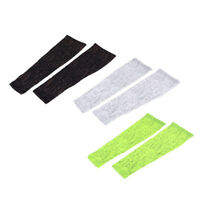 1 Pair Cycling Bike Bicycle Arm Warmers Cuff Sleeve Cover UV Sun Protection