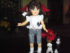 """Pretty Eyelet and Gingham Set for Toni 14"""" Doll"""