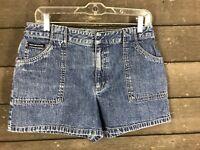 DKNY Jeans 116 Blue Faded Jean Shorts Women's Sz 4