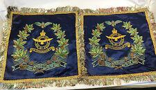 Two WW2 Era Canadian RCAF Cushion Slip Covers
